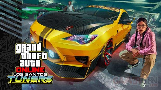 GTA Online 15 07 2021 Los Santos Tuners key art