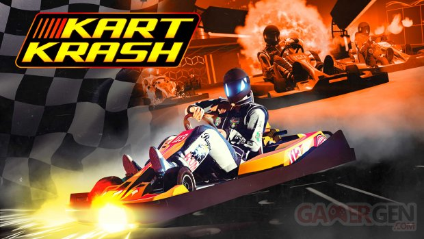 GTA Online 20 08 2021 Kart Krash