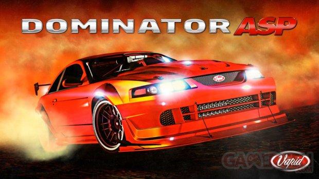 GTA Online Grand Theft Auto Vapid Dominator ASP 05 08 2021