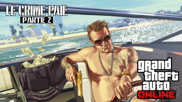 GTA Online Le Crime Paie Partie 2 08 07 2015 artwork