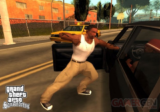 GTA San Andreas CJ