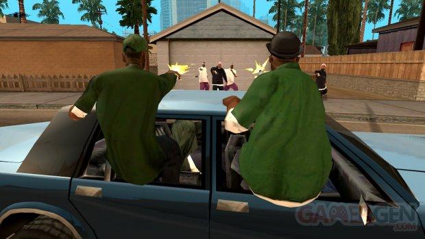 GTA San Andreas mobiles screenshot