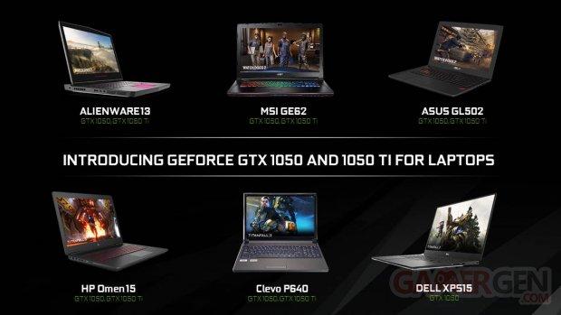 GTX 1050 Laptops