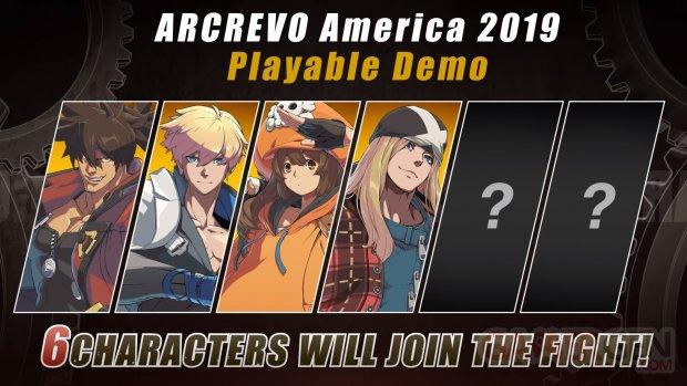 Guilty Gear ArcRevo America démo 13 10 2019