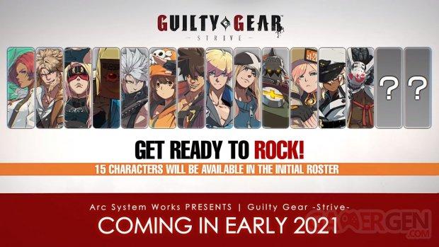 Guilty Gear Strive 10 11 10 2020