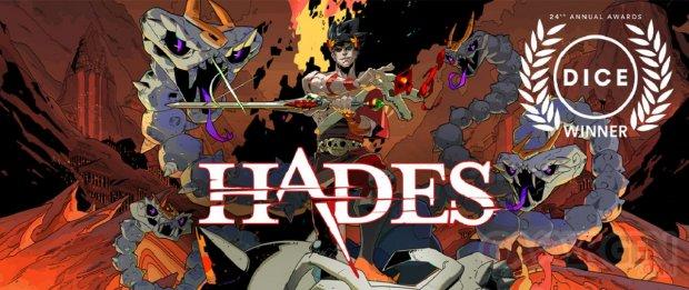 Hades GOTY Dice Awards 2021