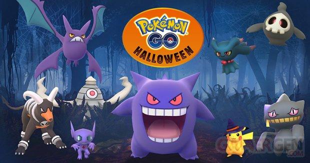 Halloween Key Art Pokemon Go