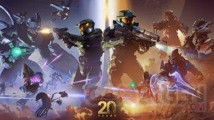 Halo 20 ans anniversaire key art wallpaper fond d'écran