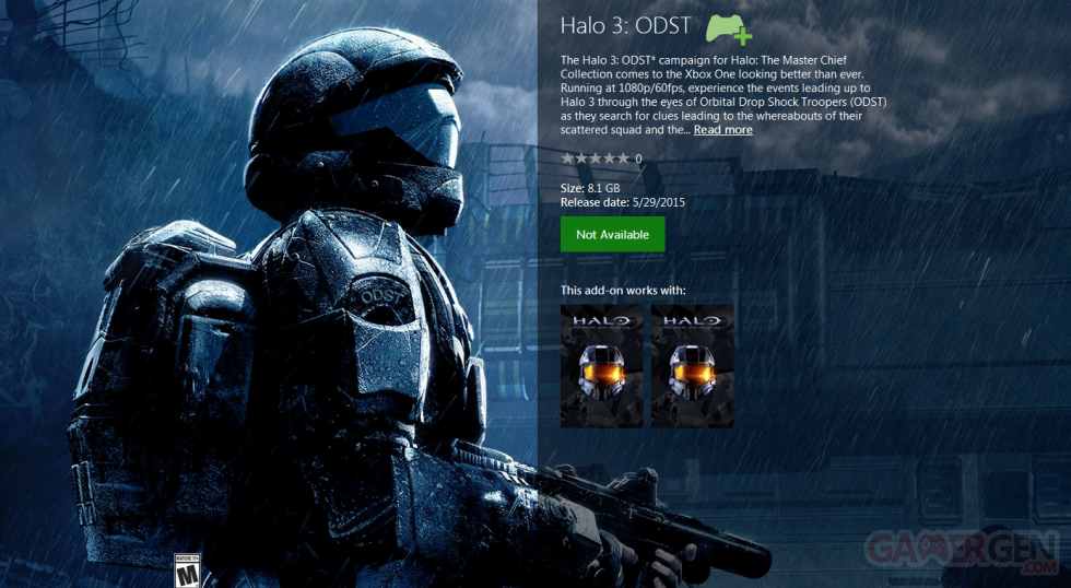 Halo 3 ODST - Halo Master Chief Collection