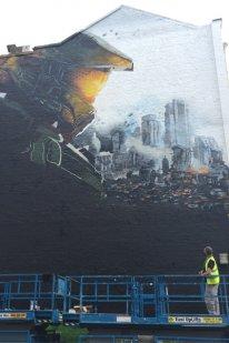 Halo 5 graffiti image screenshot 1