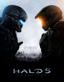 Halo 5 Guardians illustration jaquette (2)