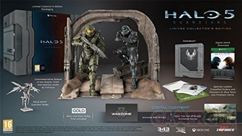 halo 5 guardians limited collector s edition