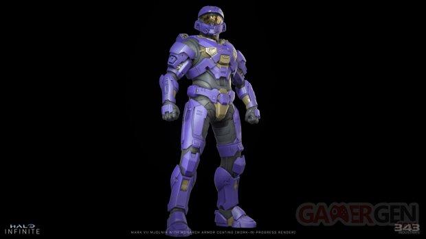 Halo Infinite armor coat armure revetement Monarch