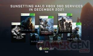 Halo Xbox 360 fin service 1