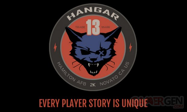 Hangar 13 logo head