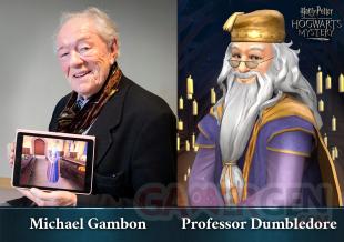 Harry Potter Hogwarts Mystery  press michaelgambon dumbledore 02