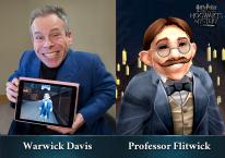 Harry Potter Hogwarts Mystery  press warwickdavis flitwick 02