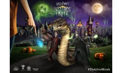 Harry Potter Wizards Unite dark arts month 2019