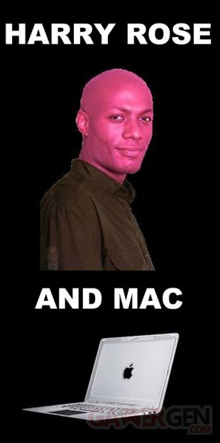 Harry Rose and Mac