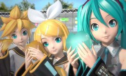 Hatsune Miku Project Diva F 2nd head