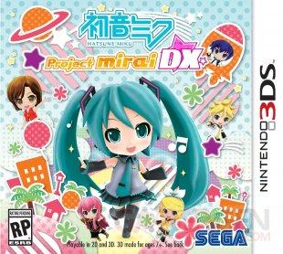 Hatsune Miku Project Mirai Remix jaquette US