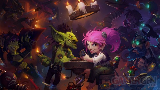 hearthstone hearthstone heroes of warcraft activision blizzard gnomes goblins art 98087 1920x1080