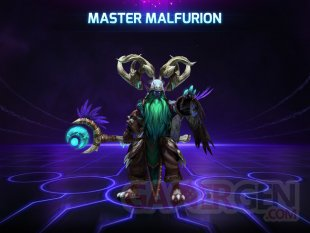 Heroes of the Storm Malfurion master skin modele maitre
