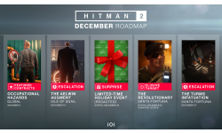 Hitman 2 décembre december roadmap