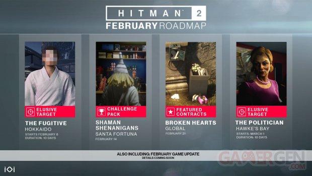 Hitman 2 planning février 09 02 2019