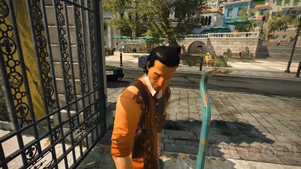 Hitman 3 PS VR head