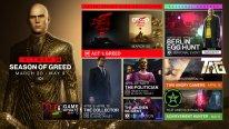 Hitman 3 Season of Greed roadmap