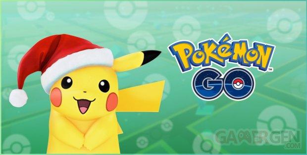 holiday pikachu Pokémon GO