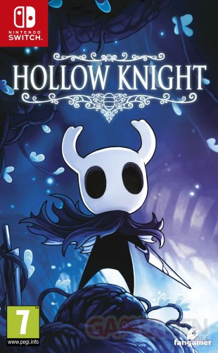 Hollow Knight jaquette Switch 22 03 2019