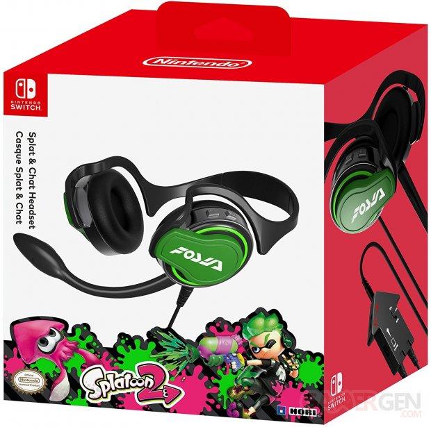 HORI Nintendo Switch Splatoon 2 Splat and Chat Headset (1)