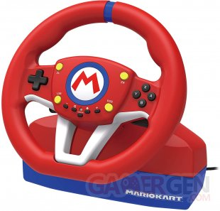 HORI Switch Mario Kart Racing Wheel (4)
