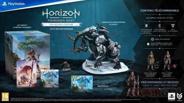 Horizon Forbidden West édition Collector 02 09 2021