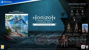 Horizon Forbidden West édition numérique Deluxe 02 09 2021