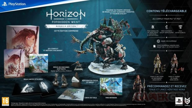 Horizon Forbidden West édition Regalla 02 09 2021