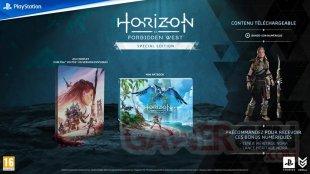 Horizon Forbidden West édition Spéciale 02 09 2021