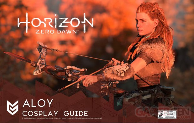 Horizon Zero Dawn 12 08 2015 Aloy cosplay 13