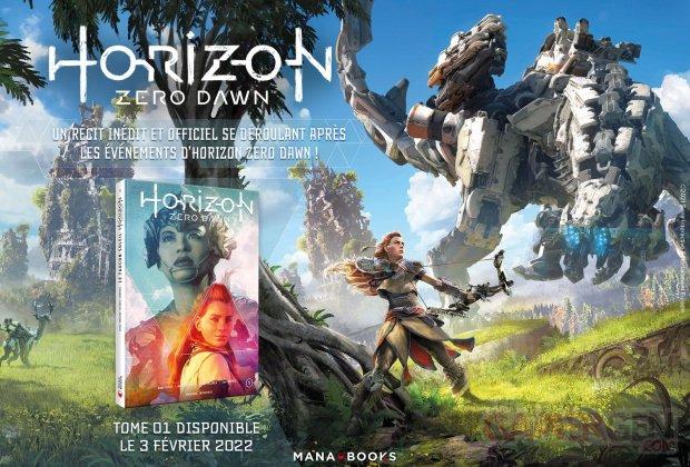 Horizon Zero Dawn comics Mana Books 07 09 2021