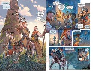 Horizon Zero Dawn comics Mana Books extrait 01 07 09 2021