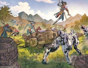 Horizon Zero Dawn comics Mana Books extrait 02 07 09 2021