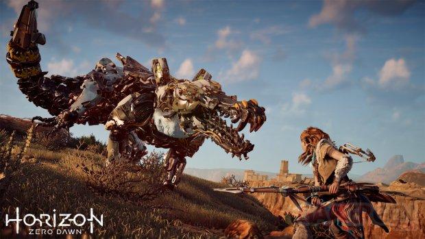 Horizon Zero Dawn gameplay mechas 02 20 10 2016