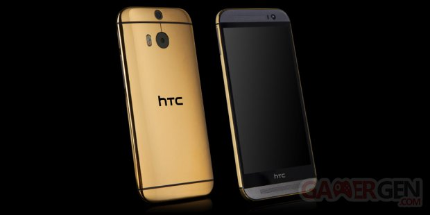 htc one m8 gold 1