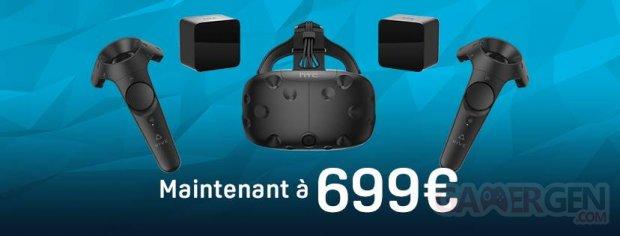 HTC Vive baisse de prix 1.