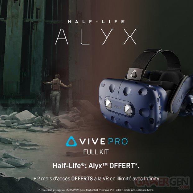 HTC VIVE Pro Half Life Alyx