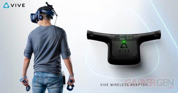 HTC Vive Wireless Adaptateur.