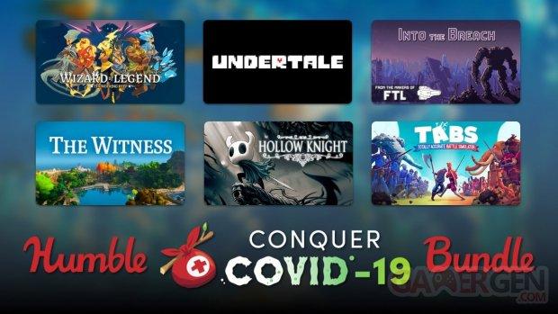 Humble Bundle Conquer COVID 19