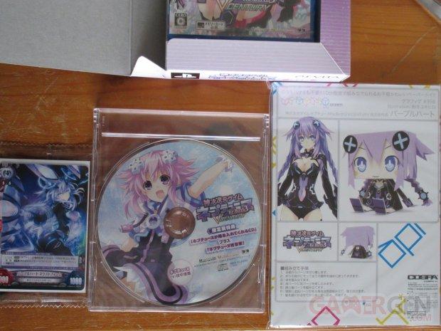 Hyperdimension Neptunia Rebirth 3 V Century édition collector déballage 6